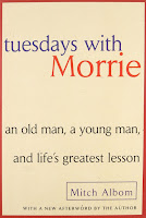 Tuesdays with Morrie Book Review Recommendation -Mitch Albom - Book Recommendations for Women Men Young Adults