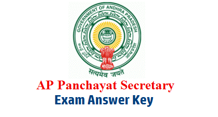 APPSC Group III Panchayat Secretary Screening Test Exam Answer Key Download. Andhra Pradesh Public Service Commission APPSC Group 3 Panchayat Secretary Screening Exam Held on 21.04.2019 Question Paper and Answer Key Download ap-panchayat-secretary-exam-answer-key-download