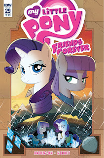 MLP Friends Forever #29 Comic by IDW Regular Cover by Tony Fleecs