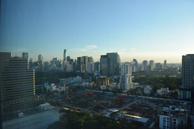 Oriental Residence Bangkok Room View