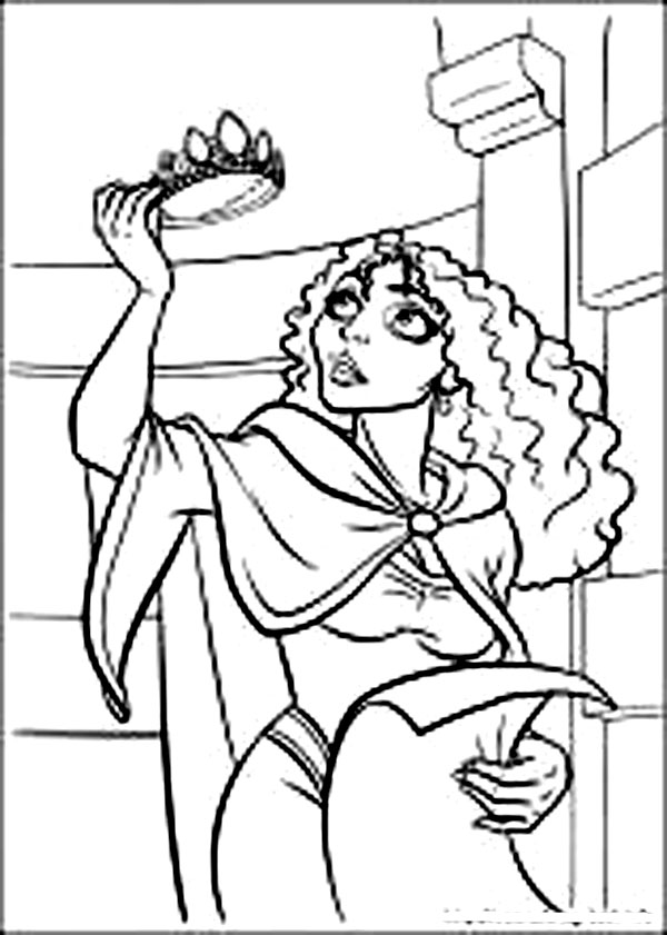 disney witch coloring pages-#8