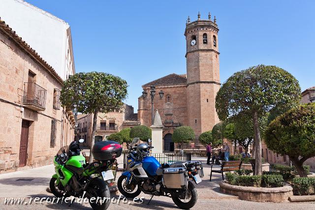 Plaza Mayor, Baños de la Encina, Jaen