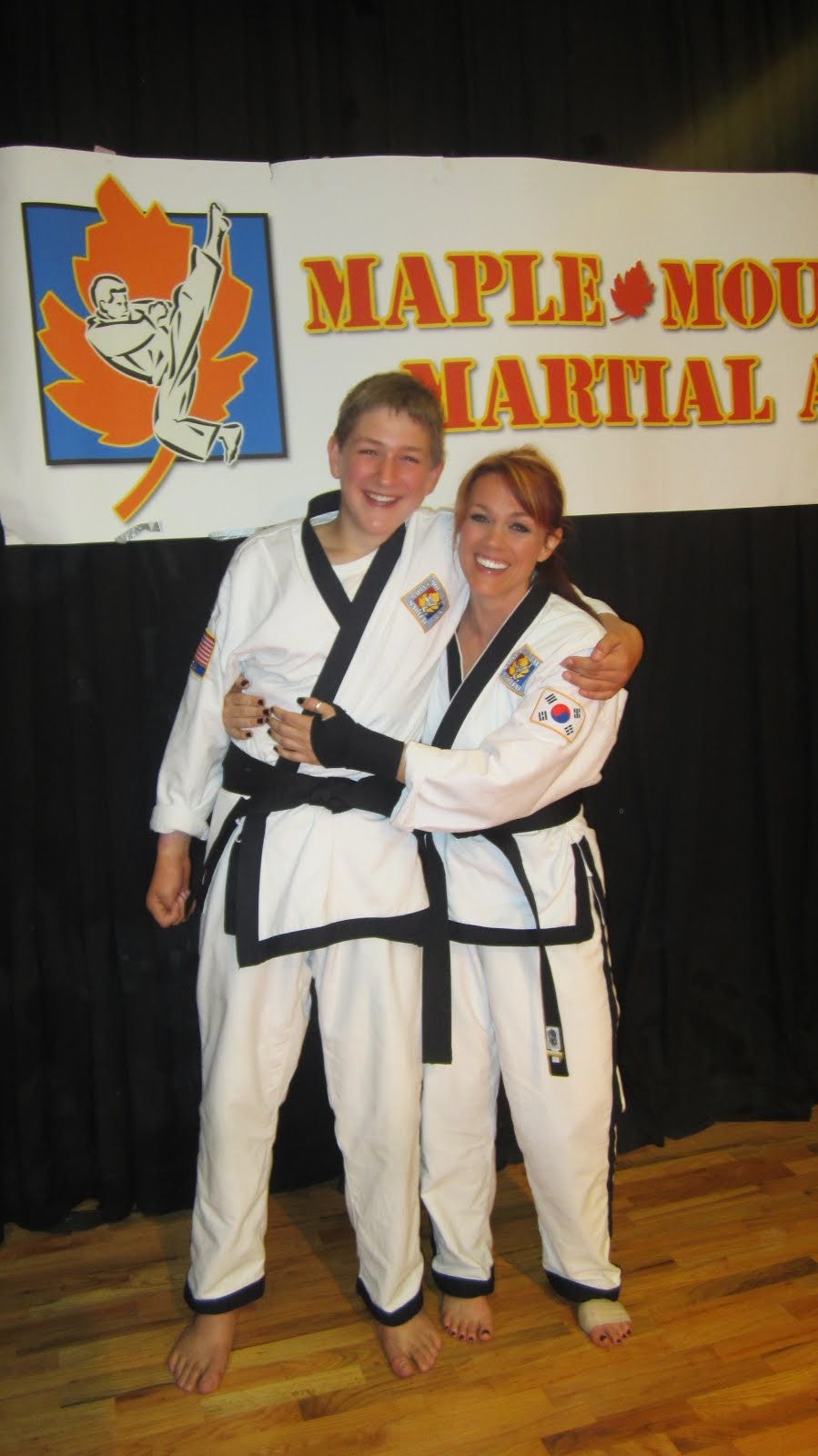 Black Belts Have More Fun
