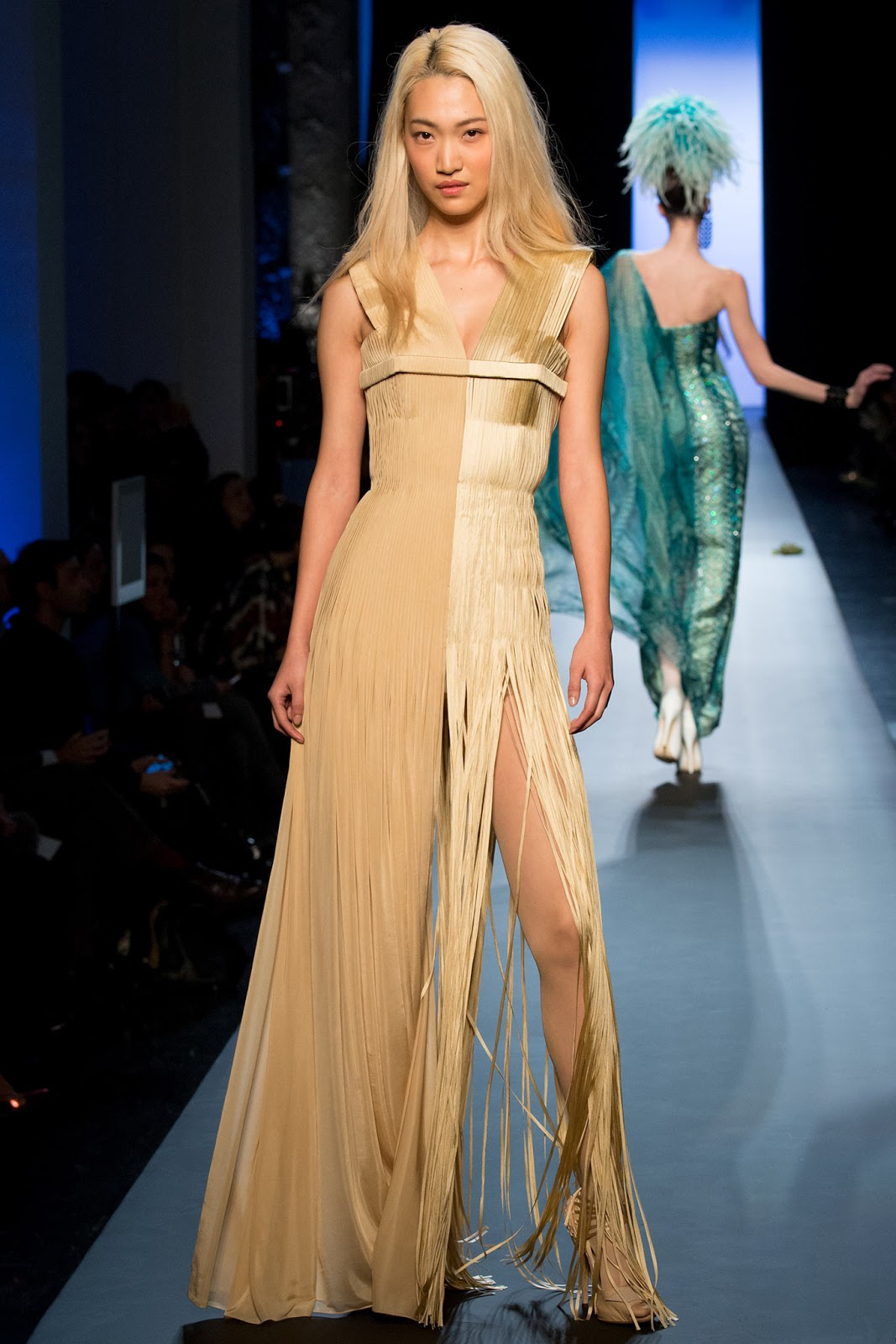 jean paul gaultier haute couture s s 15 paris visual optimism fashion editorials shows. Black Bedroom Furniture Sets. Home Design Ideas