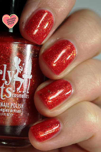 Girly Bits Calla Me Maybe swatch by Streets Ahead Style