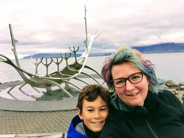 sun monument - Iceland - jo ebisujima - jojoebi
