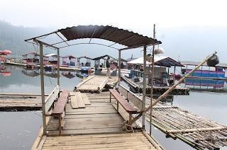 wisata telaga menjer wonosobo