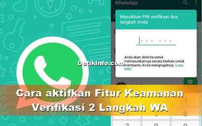 Cara Aktifkan Verifikasi 2 Langkah di WhatsApp