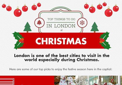 Infographic: Things to do in London at Christmas