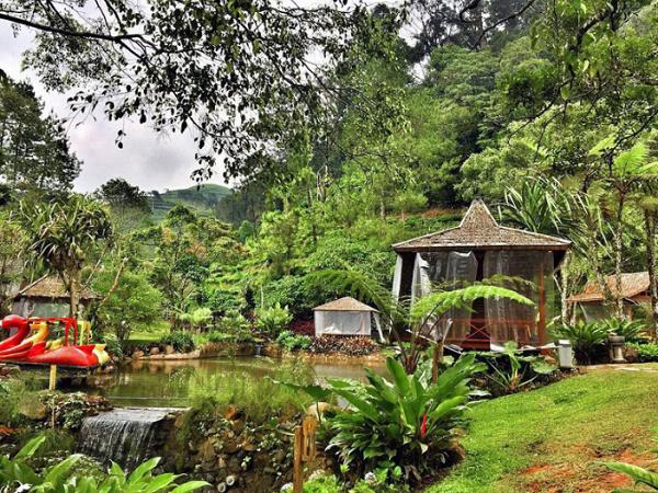 wisata keluarga di bogor melrimba garden
