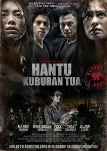 Poster Film Hantu Kuburan Tua