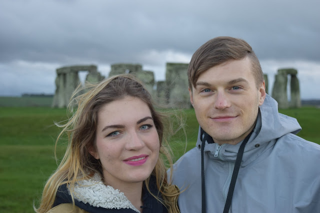 stonehenge couple cute