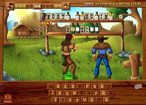 لعبة ذكاء وتعليم انجليزي Wild West Billy لصغار السن