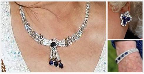 From Her Majesty S Jewel Vault The Sapphire Tassel Demi