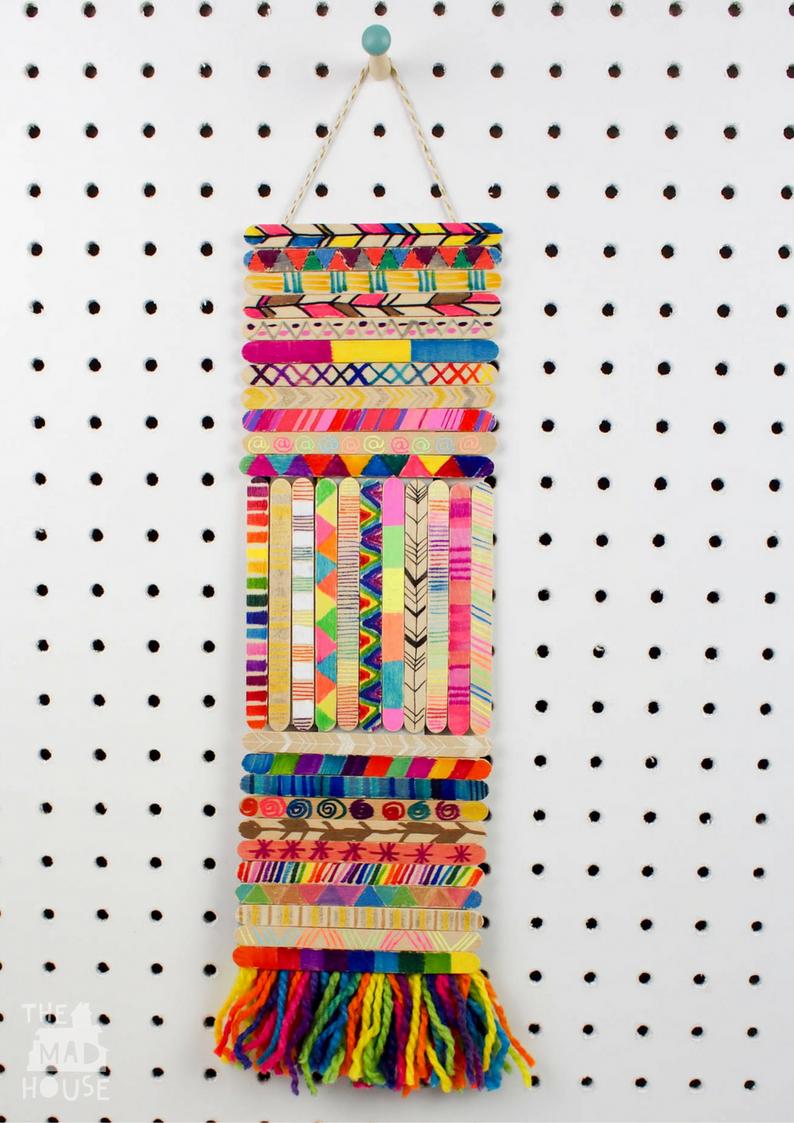 20+ Cutest and Super Fun Popsicle Stick Crafts   Pink ...