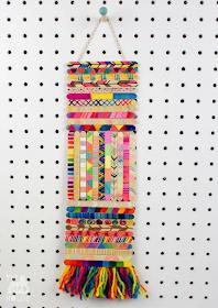 craft stick wall hanging art