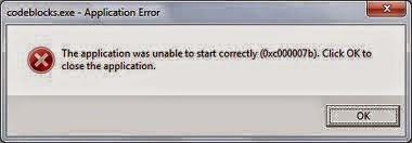 Cara mengatasi was unable to start correctly (0xc0000005) di
