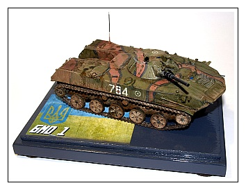 Montage BMD-1 Panda Hobby 1/35