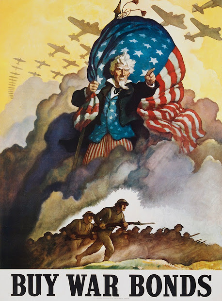 Famous Recruiting Posters World War Two Vintage