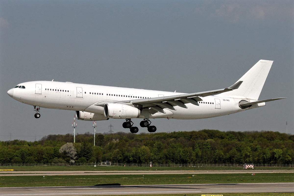 Hi-Fly Airbus A330-200 White Livery Aircraft