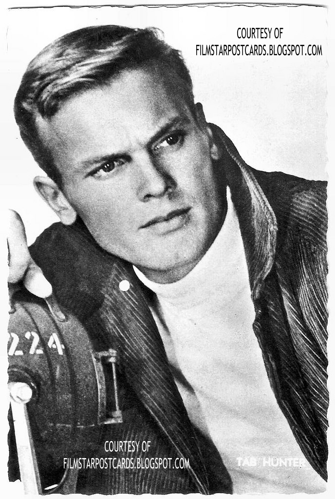 The Latest From Our Friends At European Film Star Postcards 1950s Hollywood Dreamboat Tab Hunter Dead