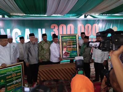 Kemenag Tanjungbalai Hadiri Pembukaan 300.000 Khataman Qur'an