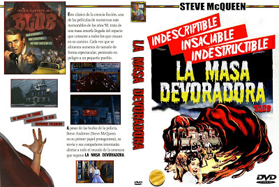 La masa devoradora | 1958 | The Blob | Caratula | Dvd Cover