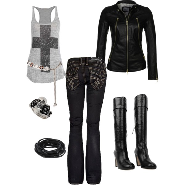Rock Style clothes