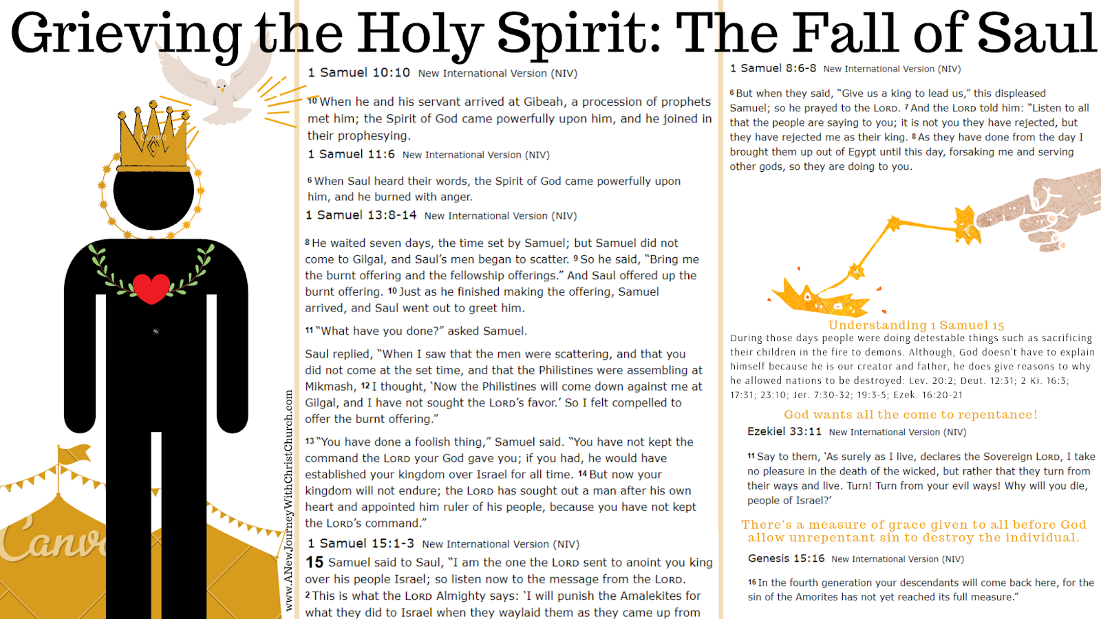 How did Saul grieve the Holy Spirit?