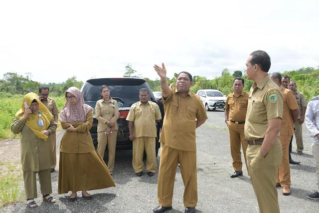Adam Rahayaan Tinjau Kembali Pembangunan RSUD Maren Hi Noho Renuat Tual