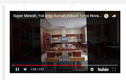 Begini Mewahnya Rumah Setya Novanto, Dilengkapi Tangga Elevator