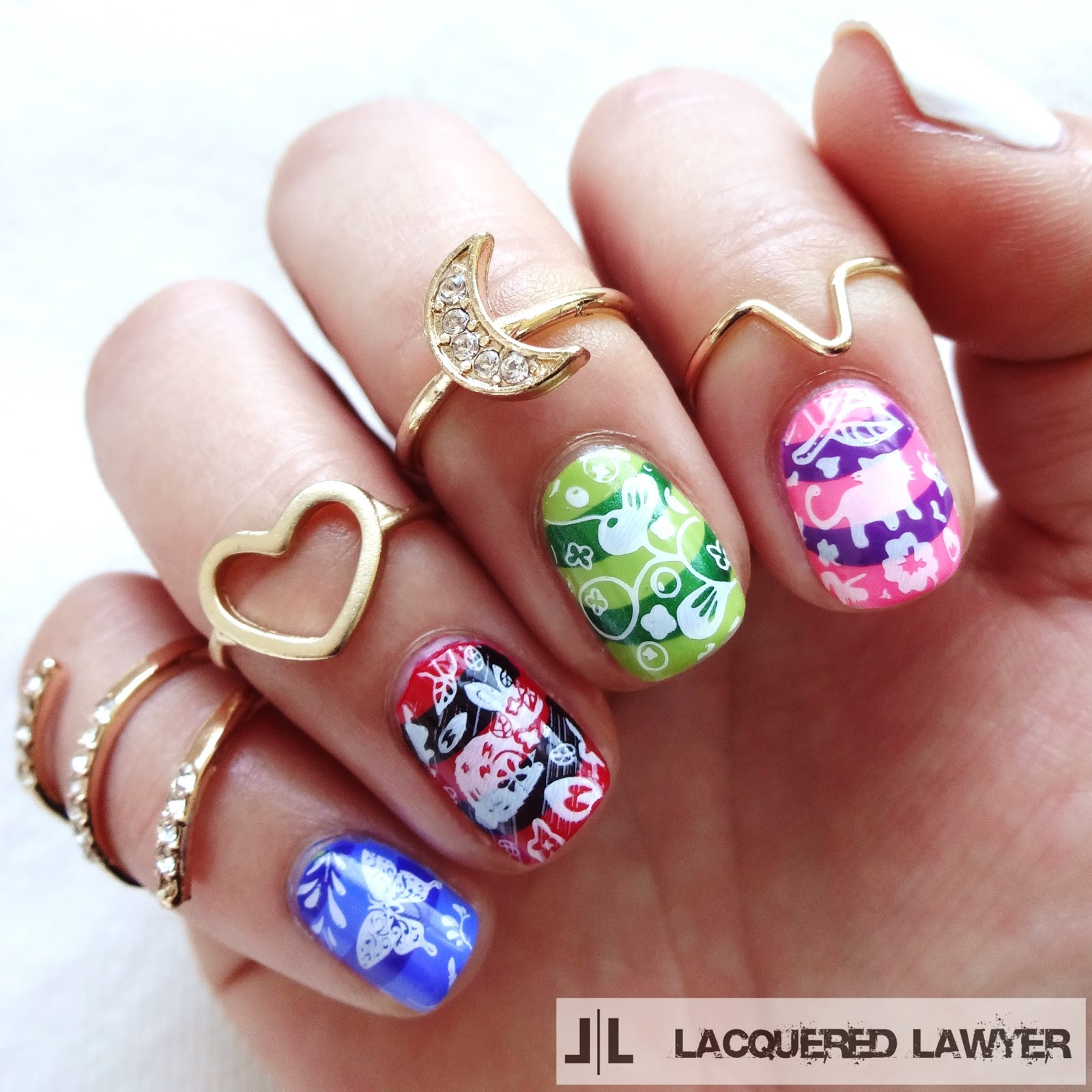 Lacquered Lawyer | Nail Art Blog: Alice in Wonderland