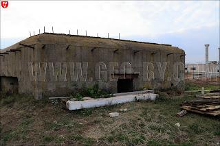 Полукапонир №15 у деревни Рымаши