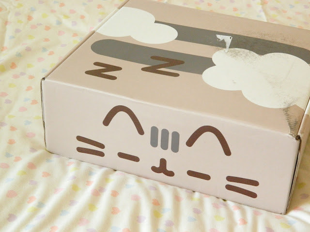 The Box of the Pusheen Box Autumn 2018