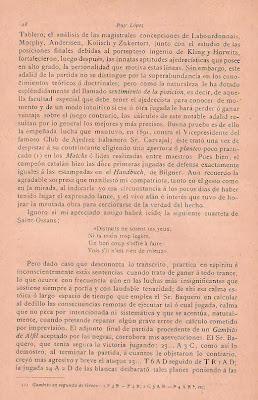 Artículo de José Tolosa y Carreras en la Revista Ruy López (2)