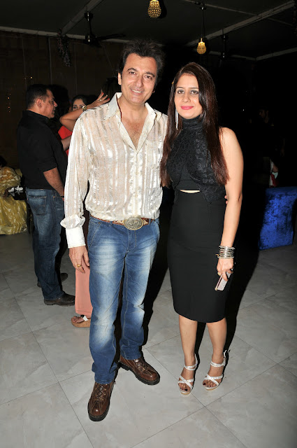 Avinash Wadhawan with Wife Natasha Wadhawan