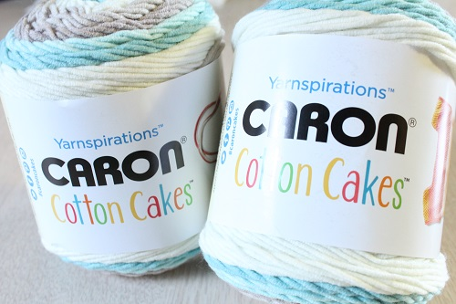 Caron Cotton Cakes, cotton, acrylic, blend, yarn, new