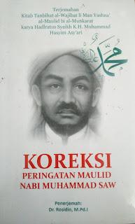 Terjemah Kitab Karya Hadratus Syaikh KH Muhammad Hasyim Asy'ari Tentang Maulid Nabi