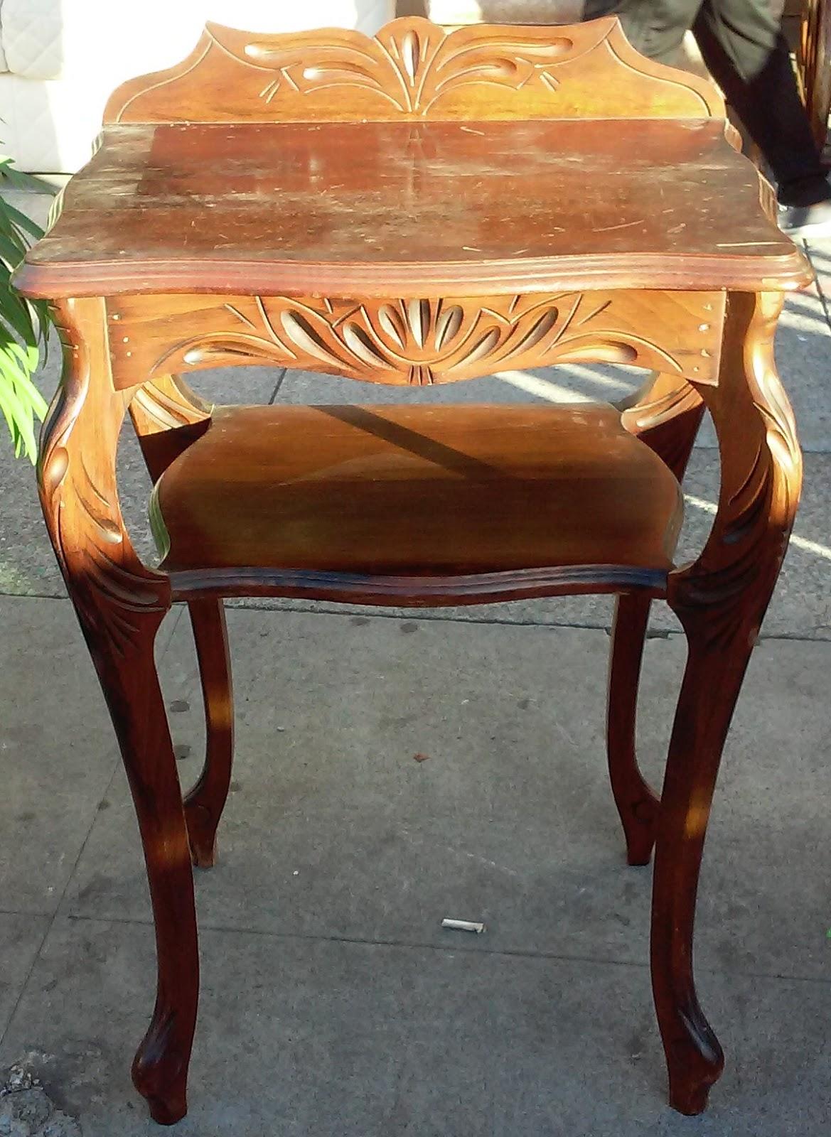 uhuru furniture collectibles sold art nouveau console table 45. Black Bedroom Furniture Sets. Home Design Ideas