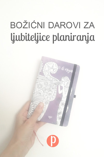 Božićni darovi za ljubiteljice planiranja (Ženski rokovnik)