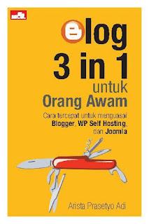 Buku Panduan Membahas Blog WP, Blogger, dan Joomla