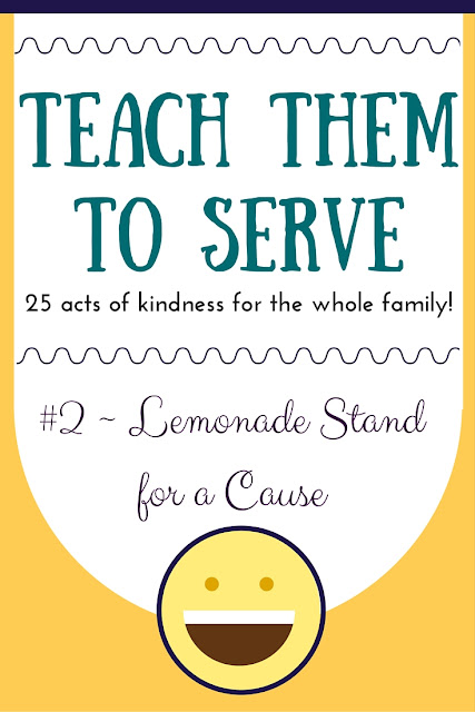 Teach them to serve with this fun series of 25 acts of kindness for the whole family!