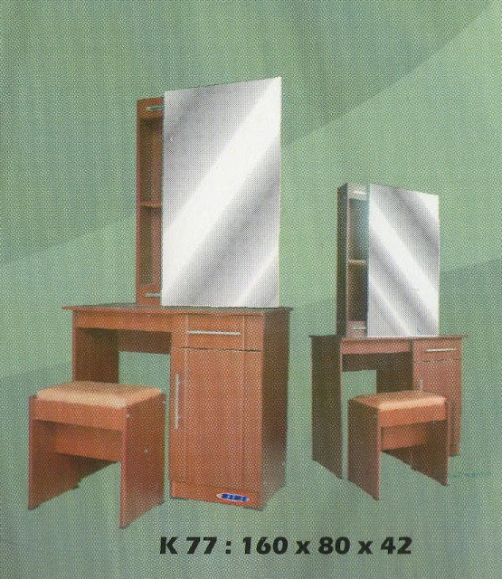 Mahkota Baru Furniture Meja Rias