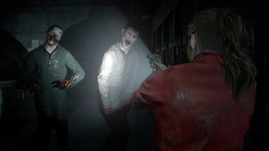 resident evil 2 remake gameplay claire zombies