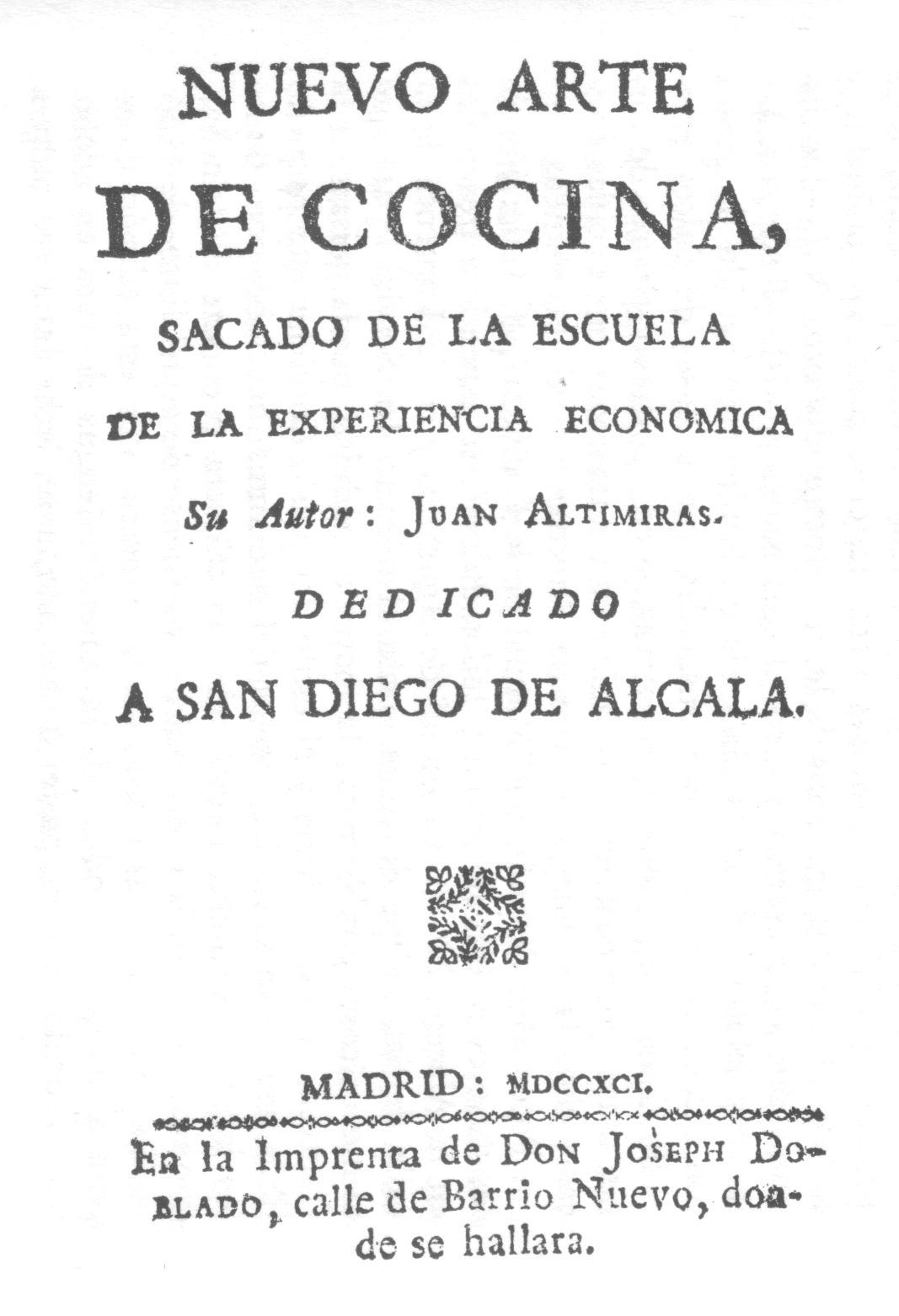 Resultado de imagen de recetario siglo 19 tortilla