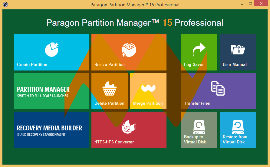 Paragon Partition Manager 15 Professional Cracked