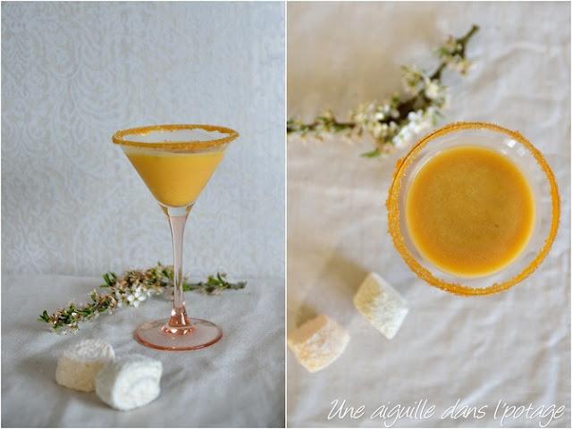 cocktail vodka-apricot