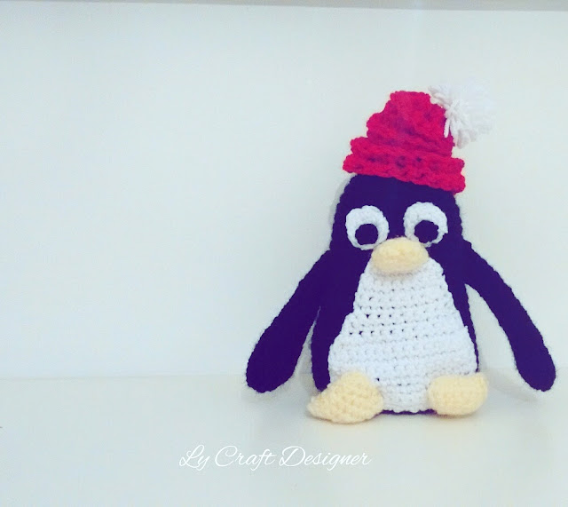 Tux Linux amigurimi/ Pinguino Tux Linux