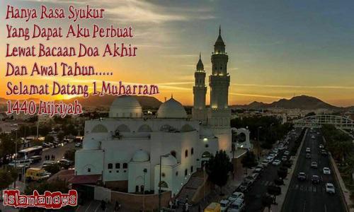 Amalan Doa Malam Akhir Awal Tahun Baru Islam 1 Muharram 1440 Hijriyah