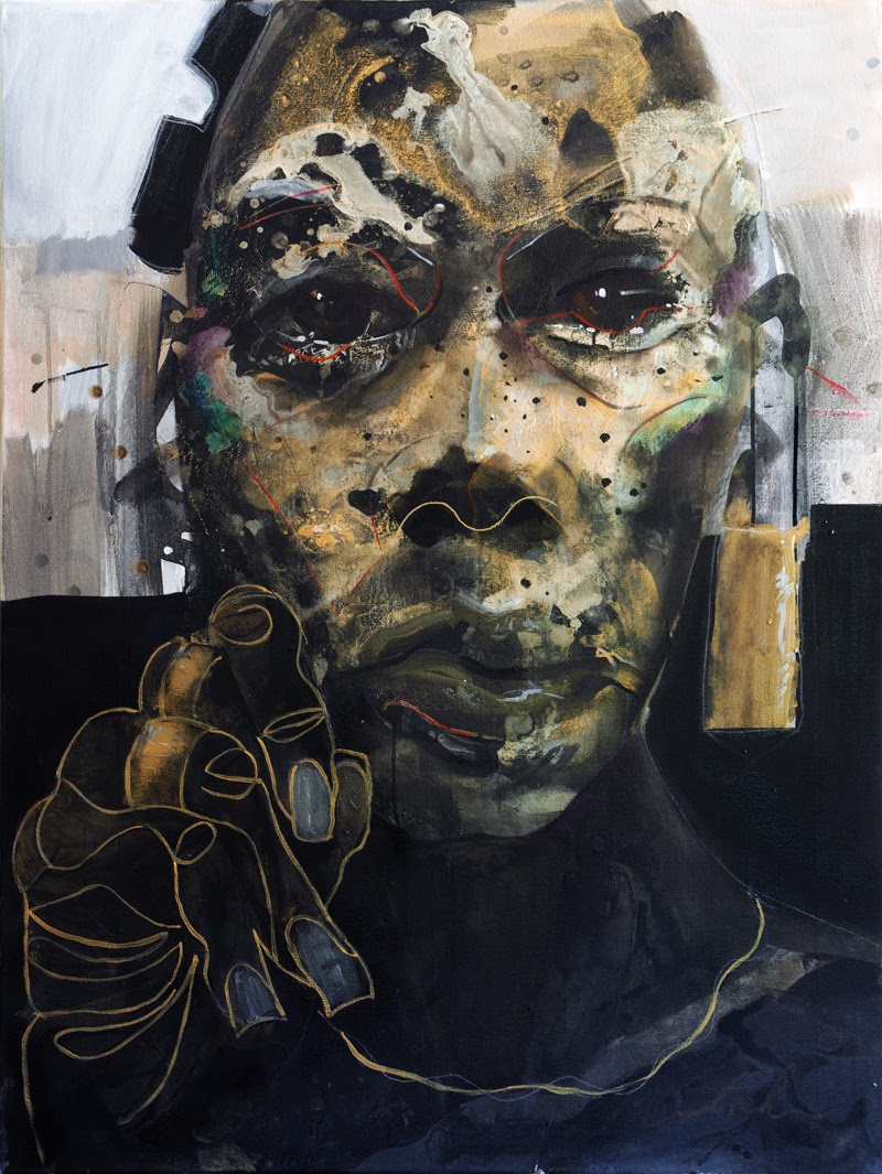 Expressionistic Portraits by William Stoehr.